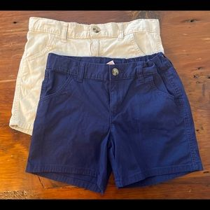2 pair WONDER NATION girls shorts.